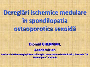 Spondilopatia vertebrala osteoporotica [usmf]