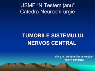 Tumorile SNC [usmf]