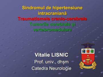 Traumatismele cranio-cerebrale [usmf]