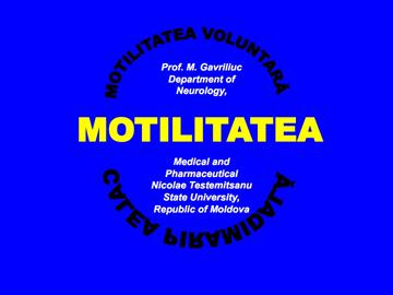 Motilitatea [usmf]