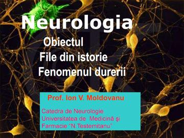 Neurologie. File din istorie [usmf]