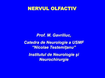 Nervii cranieni [usmf]